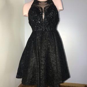Black Jovani Cocktail Dress
